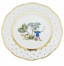 Herend Porcelain Fodos Bread And Butter Plate - Mo 05 6D