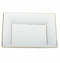 Herend Porcelain Golden Edge Jewelry Tray 7.5L X 6.25W