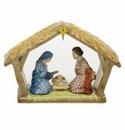 Herend Porcelain Nativity Scene 9L X 6H