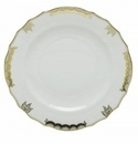 Herend Porcelain Princess Victoria Gray Salad Plate 7.5D - Gray