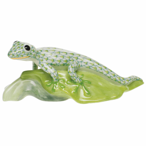 Herend Porcelain Reptile Figurines