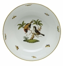 Herend Porcelain Rothschild Bird Medium Bowl 9.5D