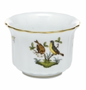 Herend Porcelain Rothschild Bird Mini Cachepot 4.5L X 4.5H