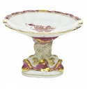 Herend Porcelain Shell With Dolphin Stand 4H X 6D