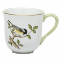 Herend Porcelain Song Bird Mug - Chickadee (10 Oz) 3.5H