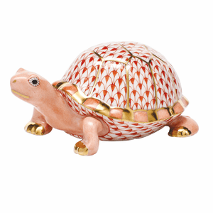 Herend Porcelain Turtle Figurines