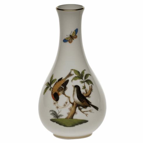 "Herend Rothschild Bird Vase  6.5""H"