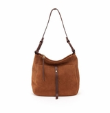 Hobo Mirage Tobacco Nubuck Hide Shoulder Handbag