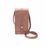 Hobo Token Vintage Hide Small Crossbody Handbag