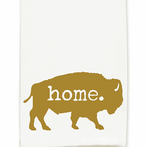 Home Bison Kitchen Towel - Featured in Pioneer Woman Magazine