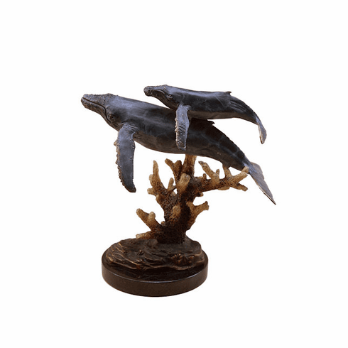 Humpback Whales Sculpture by SPI Home
