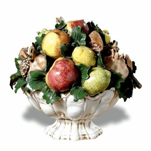"""Intrada Italy Footed Fruit Bowl Centerpiece 14""""H x 15""""W"""