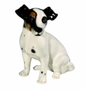 Intrada Italy Jack Russel Black Statue