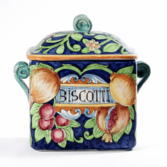 """Intrada Italy Rectangle Canister Biscotti 10""""H"""