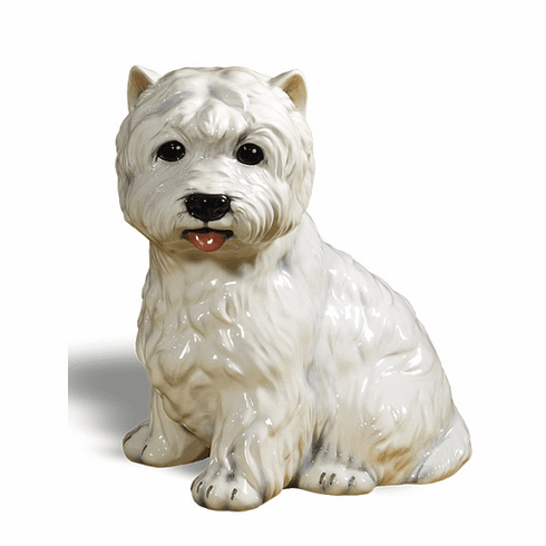 Intrada Italy West Highland Terrier Statue