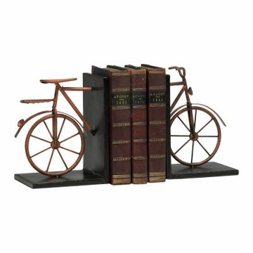 Iron Bicycle Bookends by Cyan Design