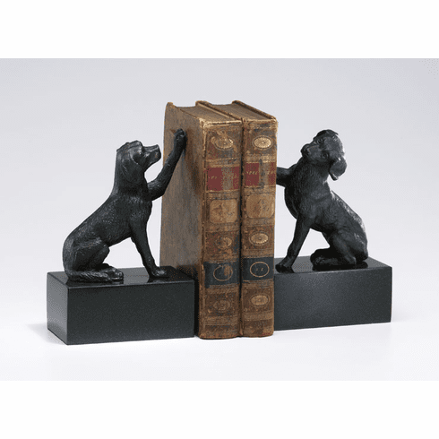 Iron Dog Paw Bookends by Cyan Design