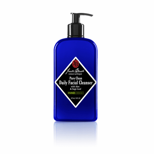 Jack Black Men's Pure Clean Daily Facial Cleanser, 16 oz