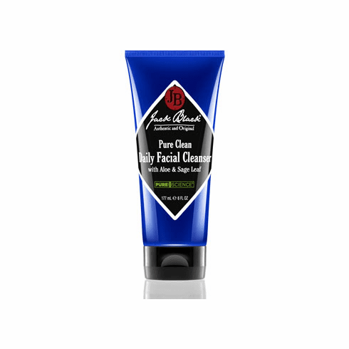 Jack Black Men's Pure Clean Daily Facial Cleanser, 3 oz
