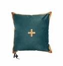 Jan Barboglio Cardenal Turquoise Pillow