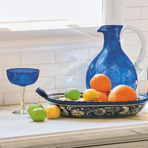 Jan Barboglio Glass Barware and Decanters
