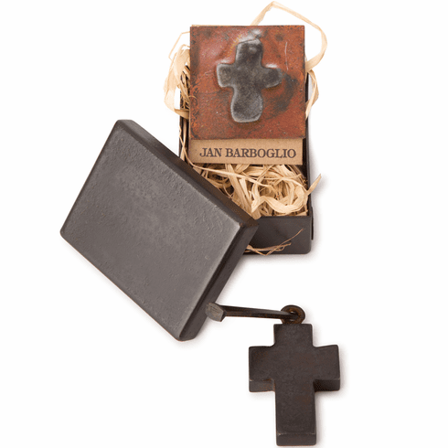 Jan Barboglio Houseblessing  Cross Box