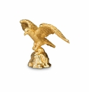 Jay Strongwater Davis Eagle Figurine - Gold