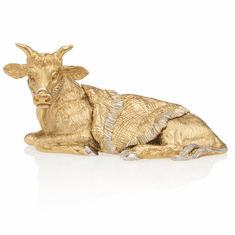 Jay Strongwater Gilded Ox Figurine - Gold