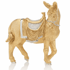 Jay Strongwater Gilded Standing Donkey Figurine