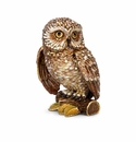 """Jay Strongwater Hildy Owl 5"""" Figurine - Natural"""