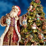 Jay Strongwater Holiday Ornaments, Nativity, & Figurines