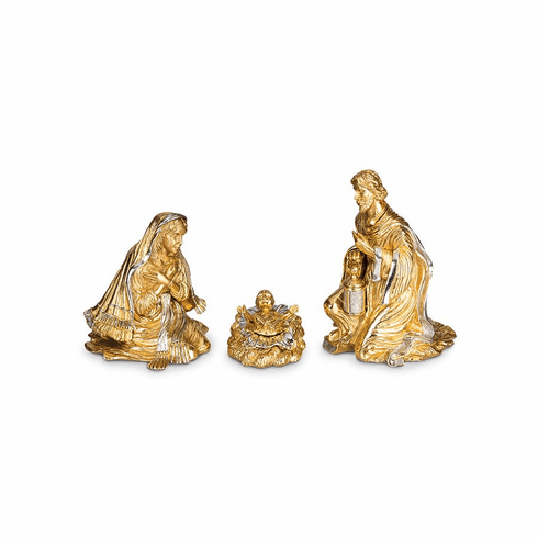Jay Strongwater Holy Family - Gold