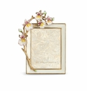 Jay Strongwater Kelsey Orchid 3in. x 4in. Frame
