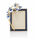 Jay Strongwater Kelsey Orchid 3in.x4in. Frame
