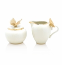 Jay Strongwater Kinsley Butterfly Creamer and Sugar