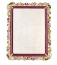 Jay Strongwater Leslie Bejeweled 5in. x 7in. Frame