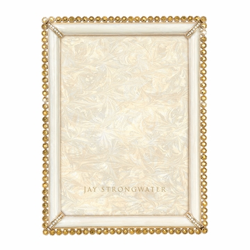 Jay Strongwater Lucas Stone Edge 5in. x 7in. Frame