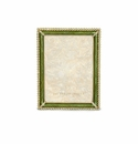Jay Strongwater Lucas Stone Edge 5in. x 7in. Frame - Green