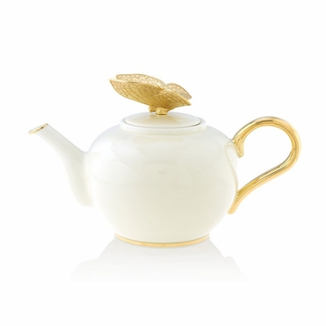 Jay Strongwater Mae Butterfly Teapot