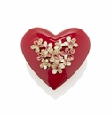 Jay Strongwater Maren Bouquet Heart Box