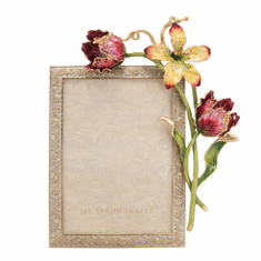 Jay Strongwater Margery Tulip 5in. X 7in. Frame