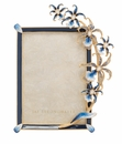 Jay Strongwater Natalie Orchid 5in.x7in. Frame