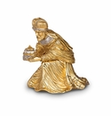 Jay Strongwater Nativity Wise Man Gaspar Figurine - Gold