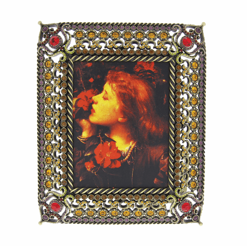 """Jay Strongwater Patricia 3"""" X 4"""" Frame (Jay'S First Frame), Jay"""
