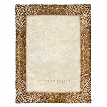 Jay Strongwater Reed Feather 5in. x 7in. Frame