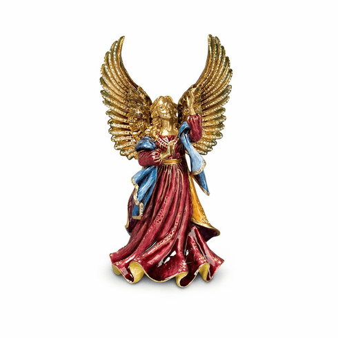 Jay Strongwater Rejoicing Angel Figurine