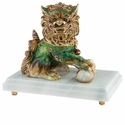 Jay Strongwater Shi Foo Dog Figurine