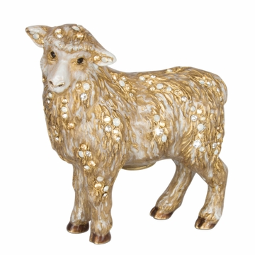 Jay Strongwater Standing Sheep Figurine - Natural