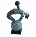 Jean Boggio for Franz Collection Acrobat Of The Sky Turquoise Figure