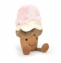 Jellycat Amuseable Ice Cream Small Stuffed Toy